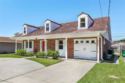 Metairie Single Family Home For Sale: 1504 Irene Drive