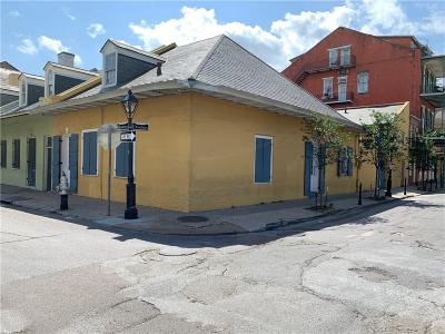 French Quarter Single Family Home For Sale: 600 Ursulines Avenue