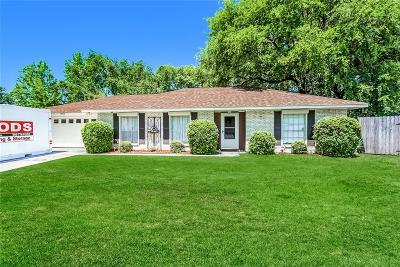 Slidell Single Family Home For Sale: 1532 Maplewood Drive
