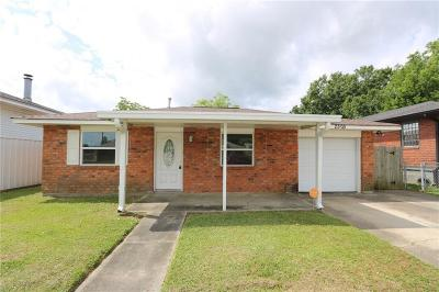 Marrero Single Family Home For Sale: 2505 Ramsey Drive