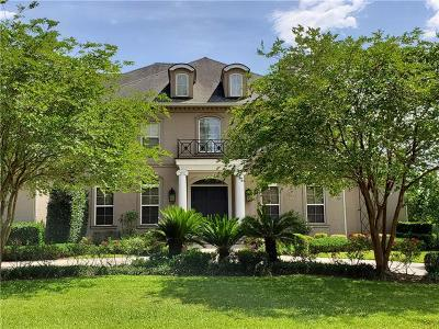 Single Family Home For Sale: 196 English Turn Drive