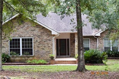 Slidell Single Family Home For Sale: 600 Christian Lane