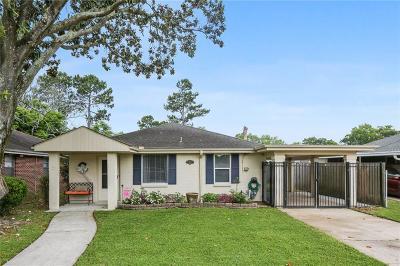 River Ridge, Harahan Single Family Home For Sale: 184 Rebel Avenue