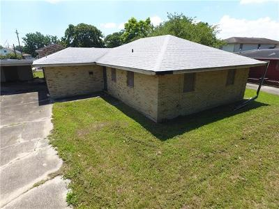 New Orleans Single Family Home For Sale: 4810 Prentiss Avenue