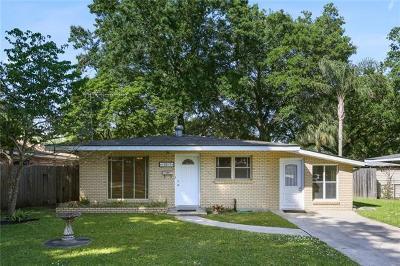 River Ridge, Harahan Single Family Home For Sale: 10617 Salem Street