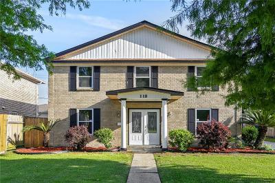 Gretna Single Family Home For Sale: 118 Cameron Drive