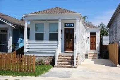 New Orleans Single Family Home For Sale: 2527 Eagle Street