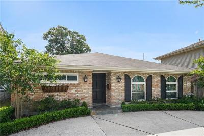 Metairie Single Family Home For Sale: 1137 Papworth Avenue