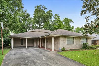 River Ridge, Harahan Single Family Home For Sale: 228 Nelson Drive