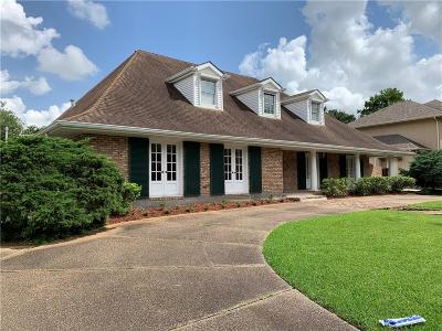 Gretna Single Family Home For Sale: 661 Fairfield Avenue