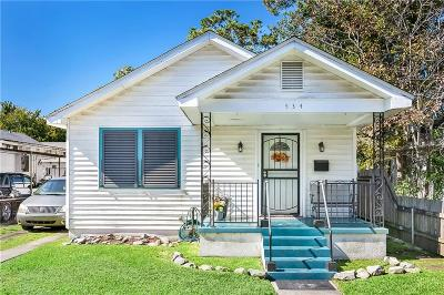 Harvey Single Family Home For Sale: 534 Brown Avenue
