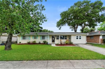 Metairie Single Family Home For Sale: 3704 Tartan Drive