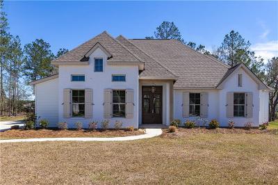 Madisonville Single Family Home For Sale: 3008 Hidden Cove Lane