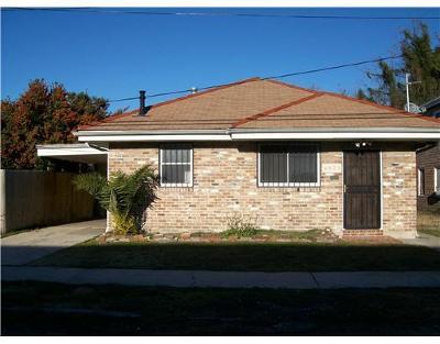Single Family Home For Sale: 8935 Peach Street