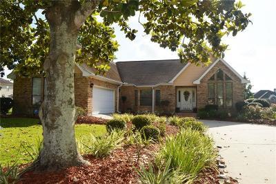 Gretna Single Family Home For Sale: 3624 E Lake Aspen Drive