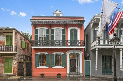 French Quarter Townhouse For Sale: 814 Saint Philip Street