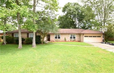 Slidell Single Family Home For Sale: 124 W Pinewood Drive