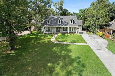 Madisonville Single Family Home For Sale: 72 River Bluff Drive