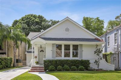 New Orleans Single Family Home For Sale: 3518 Octavia Street