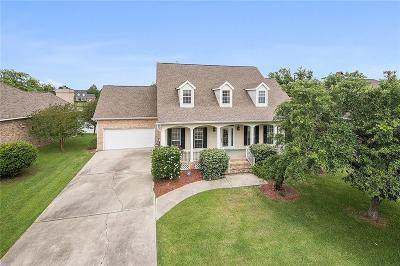 Slidell Single Family Home For Sale: 18 Oak Tree Drive