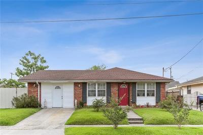 Mereaux, Meraux Single Family Home For Sale: 2125 Munster Boulevard