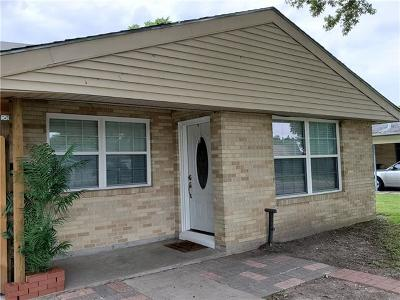 Marrero Single Family Home For Sale: 1724 Manor Heights Drive