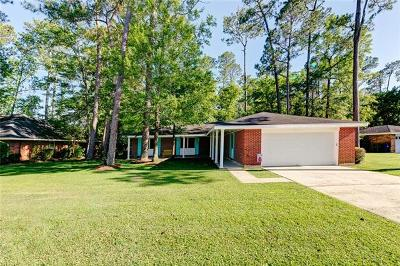 Slidell Single Family Home For Sale: 113 W Pinewood Drive