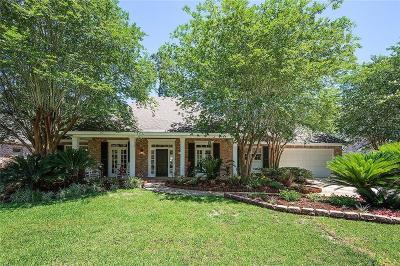 Mandeville Single Family Home For Sale: 114 Fontainbleau Drive