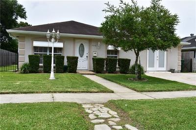 Kenner Single Family Home For Sale: 2210 34th Street