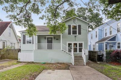 New Orleans Single Family Home For Sale: 1632 S Jefferson Davis Parkway