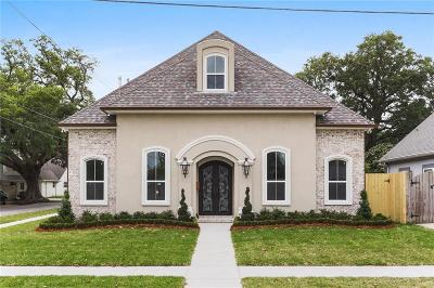Metairie Single Family Home For Sale: 1400 Beverly Garden Drive