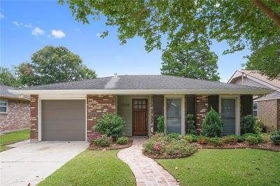 Kenner Single Family Home For Sale: 3028 Indiana Avenue