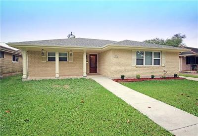 Metairie Single Family Home For Sale: 3312 Clifford Drive