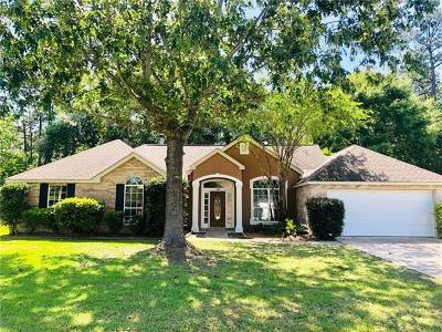 Slidell Single Family Home For Sale: 105 W Silver Maple Drive