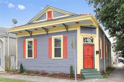 Single Family Home For Sale: 2834 Dumaine Street