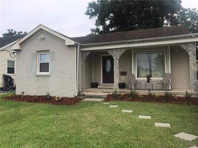 New Orleans Single Family Home For Sale: 5433 Vermillion Boulevard