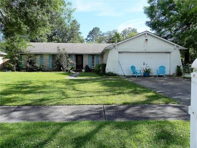 Slidell Single Family Home For Sale: 121 Anthony Drive