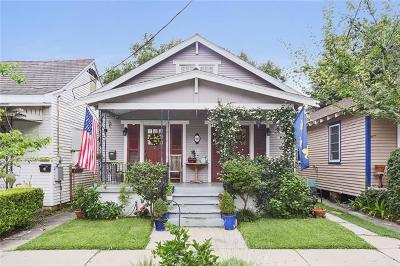 New Orleans Single Family Home For Sale: 605 Olivier Street