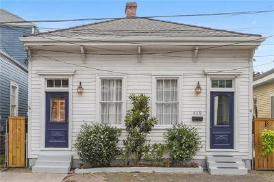 New Orleans Single Family Home For Sale: 419 Harmony Street
