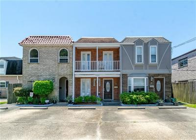 Metairie Multi Family Home For Sale: 4504 Belle Drive #B