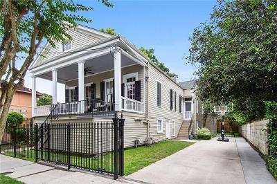 New Orleans Single Family Home For Sale: 4612 Pitt Street