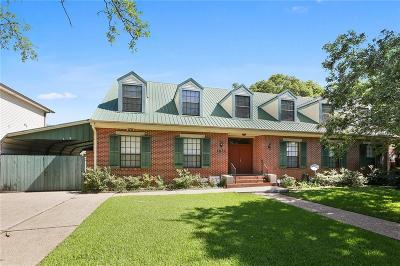 New Orleans Single Family Home For Sale: 1611 Mirabeau Avenue