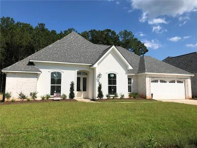 Madisonville Single Family Home For Sale: Lot 16 Sweet Clover Lane