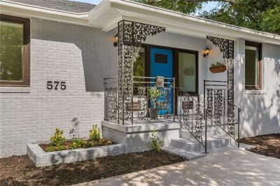 Single Family Home For Sale: 575 Central Avenue