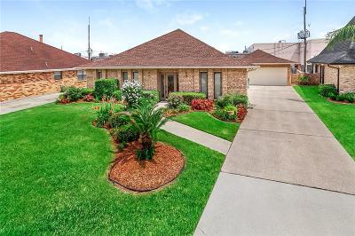 Marrero Single Family Home For Sale: 10 Fairfax Court