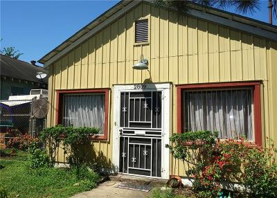 New Orleans Single Family Home For Sale: 2809 Onzaga Street