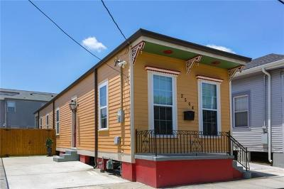 New Orleans Single Family Home For Sale: 2504 Cleveland Avenue