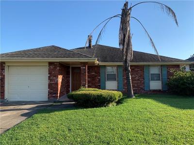 Kenner Single Family Home For Sale: 412 Pellerin Drive