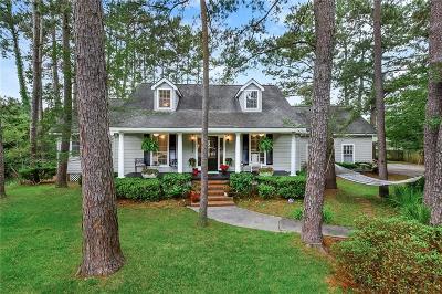 Mandeville Single Family Home For Sale: 102 Pecaniere Place
