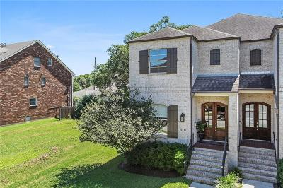 New Orleans Townhouse For Sale: 6857 Colbert Street